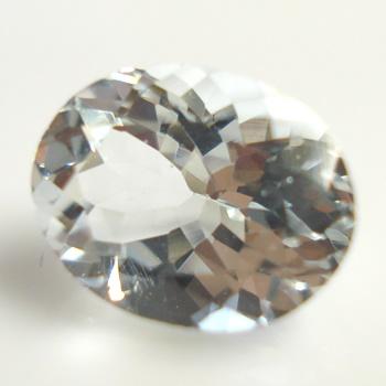 【無色透明のベリル】ゴッシェナイト(ゴシェナイト)オーバルシェイプ 約1.77cts