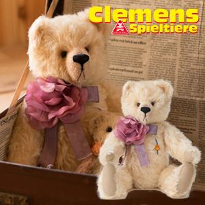クレメンス社 テディベア Teddy Brigitte, mohair くまのブリジット 本場ドイツ ビンテージ 大人気 プレゼント ギフト お子さん 誕生日
