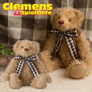 クレメンス社 テディベア Teddy Leander, mohair くまのレアンダー 本場ドイツ ビンテージ 大人気 プレゼント ギフト お子さん 誕生日