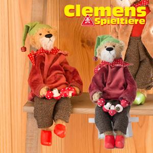 テディベア Lucky dwarf Nups, mohair クレメンス社 幸せのドワーフ ナップス ビンテージ 大人気 プレゼント ギフト お子さん 誕生日