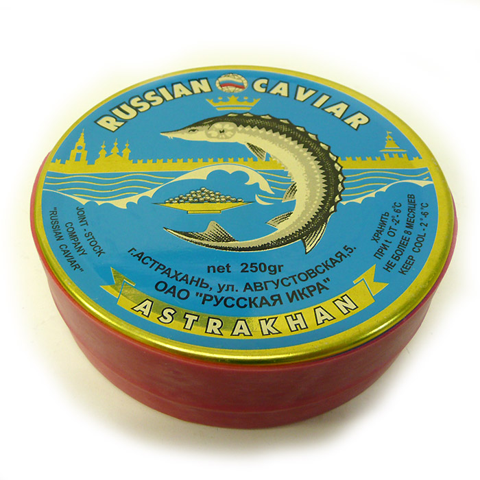 The Caspian Sea caviar Beluga 250 g tinned (frozen)