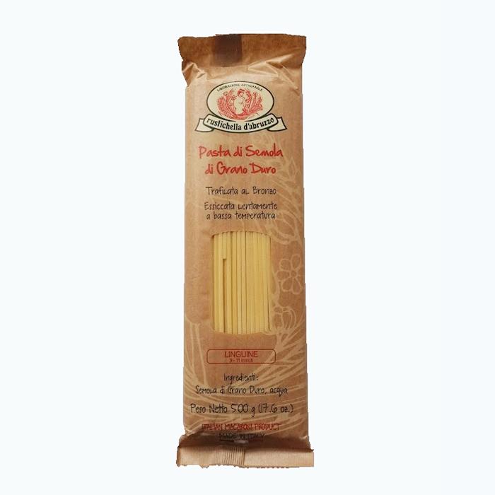 オイル系クリーム系さまざまなソースに合う伝統的な職人仕事で作られる メーカー直送 小麦の香りと深い味わいが特徴の贅沢パスタ 伝統製法パスタ アーティナザル パスタ ルスティケーラ スパゲッティ ダブルッツォ 限定価格セール 高級パスタ 500g 常温 2.0mm イタリア産
