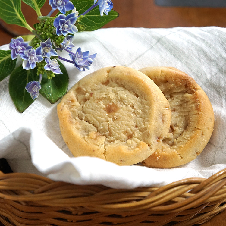 冷凍クッキー生地 「イングリッシュトフィー」 アメリカンクッキー 業務用 箱入り(8シート) 合計224ケ入りクッキーツリー社