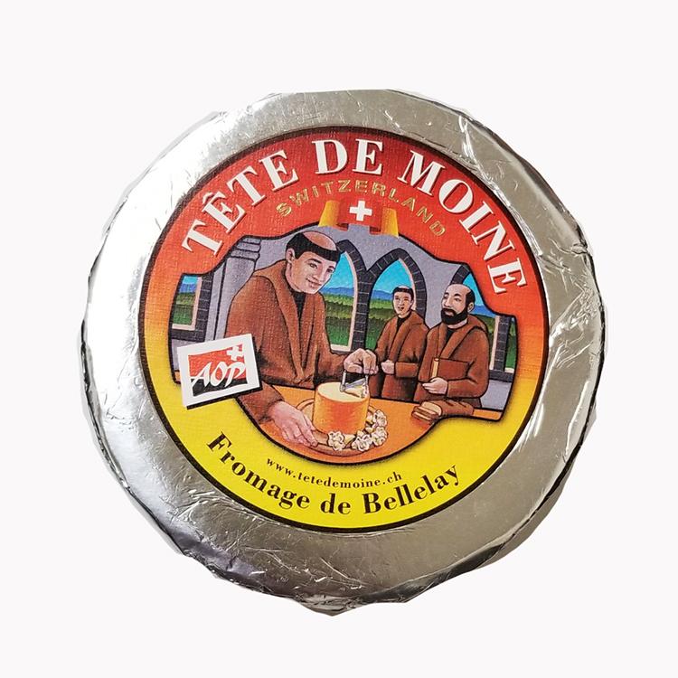 ハード セミハード チーズ テット ド モアンヌ 約900g スイス産 テテドモアンヌ テッテドモアンヌ TETE DE MOINE テット・ド・モア テット・ド・モワンヌ 毎週火・木曜日発送