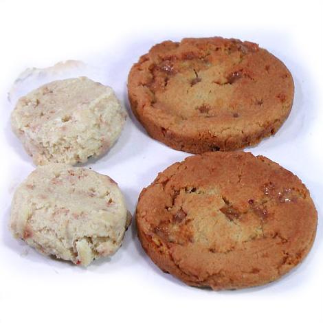 冷凍クッキー生地 「イングリッシュトフィー」 アメリカンクッキー 業務用 箱入り(8シート) 合計224ケ入り