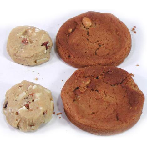 冷凍クッキー生地 「ホワイトチップピーカン」 アメリカンクッキー 業務用 箱入り(8シート) 合計224ケ入り