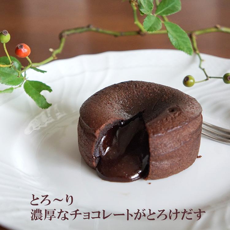 とろ~りとけだすチョコレート ビターで濃厚なチョコレートの冷凍ケーキは フォンダンショコラ 100g×2個 トレトールドパリ社製 超人気 冷凍ケーキ 2020新作 フランス産