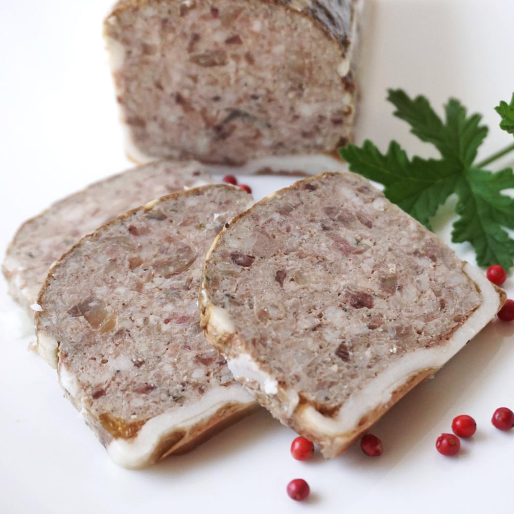 豚カシラ肉とレバーのパテフランスの老舗 デリス ドゥ クロベールのシャルキュトリ 2020春夏新作 パテ テット350g ド 冷凍 カンパーニュ フランス産 国内在庫