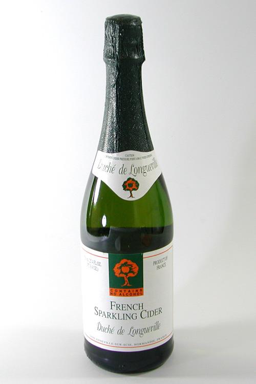 シードル【フランスNormandy産ノンアルコール】750ml 12本 スパークリング リンゴジュース ノンアルコール (常温)