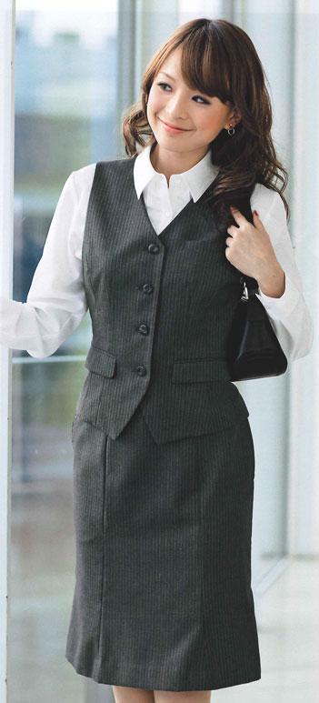 【ジョア en joie マーメイドスカート 51492 スカート 事務服 事務 ビジネス 通勤 仕事 】