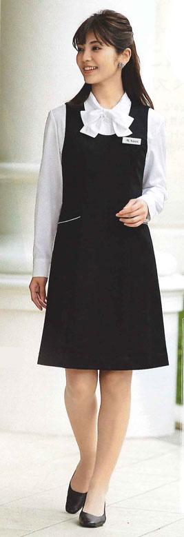 【ジョア en joie ジャンパースカート 61515 スカート 事務服 事務 ビジネス 通勤 仕事 】