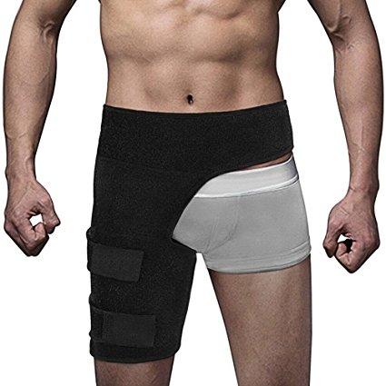 股関節ベルト 歩行改善 骨盤矯正 通気性に優れた お得 超定番 股関節サポーター 装着簡単 男女兼用 左右兼用 マジックテープ付 調整可能 コルセット