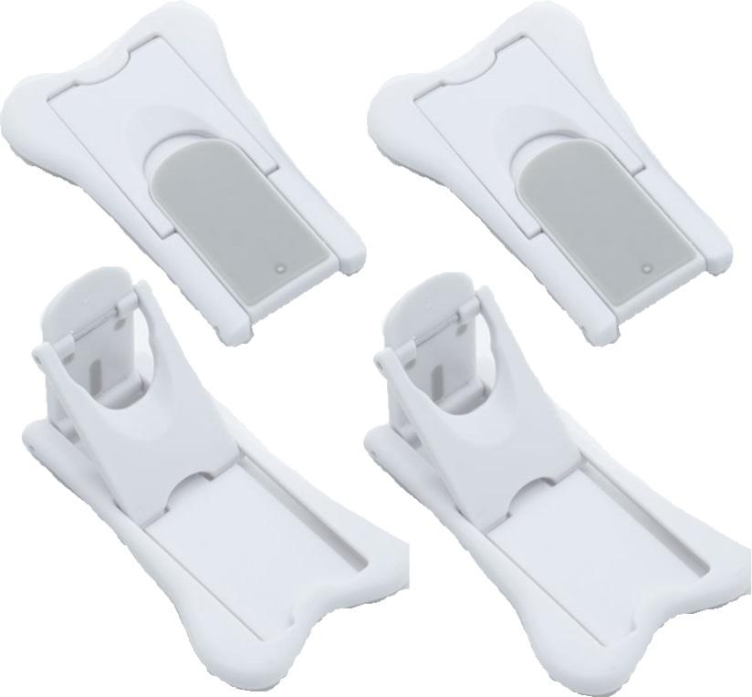 スライドドアストッパー4個セット 休み ベビーガード ベビロック 安心の実績 高価 買取 強化中 ドアロック 赤ちゃんロック ワンタッチロック 安全対策