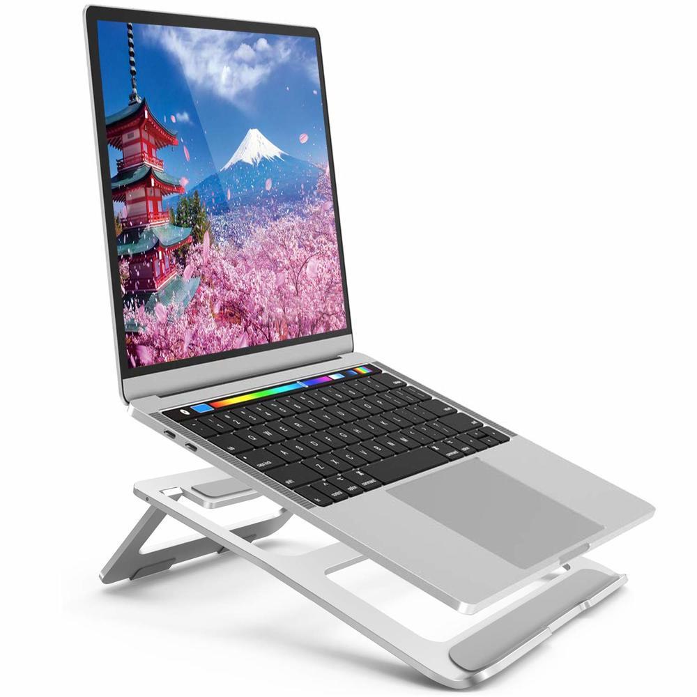 ノートパソコンスタンド ノートPC スタンド パソコンスタンド PCホルダー アルミ合金製PCスタンド放熱対策 滑り止め付き