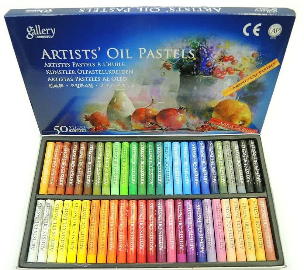 画材 高価値 オイル パステル 48色 50本セット OIL の世界へ アウトレットセール 特集 PASTELS めくるめく ARTIST'S