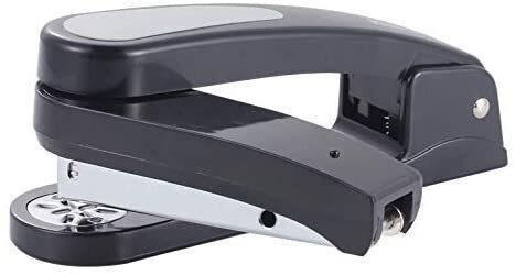ホッチキス 360°回転ステープラー 縦 横 奉呈 斜8方位調整可 25枚綴じ 6号針1000本付き 米字ストッパー 大注目 24
