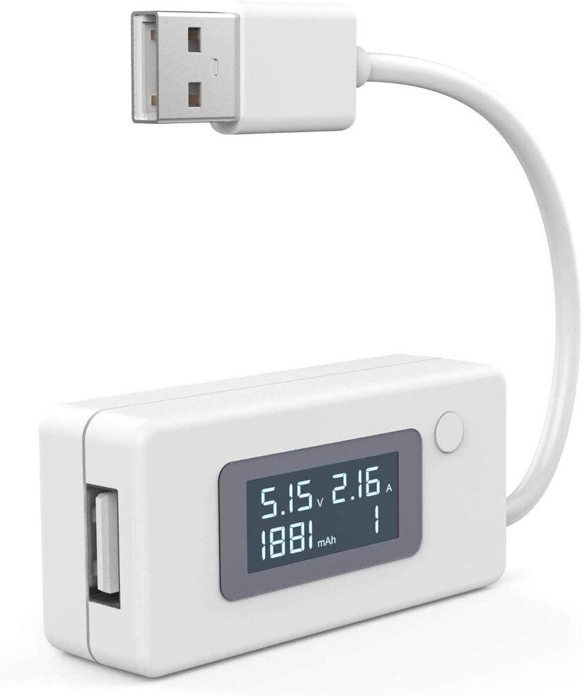 USB電圧 低価格化 AMPSパワーメータテスターマルチメーター おしゃれ