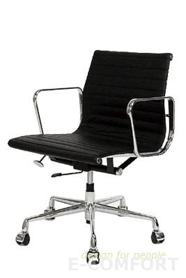E-comfort イームズ デザイン パソコンチェア アルミナムオフィスチェア/Aluminum Office Chair CHEA04P(LOW TYPE)