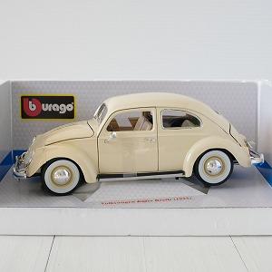 【中古】【ミニカー】1/18 BURAGO VULOLKSWAGEN KAFWER Beetle 1995 NEWパッケージ