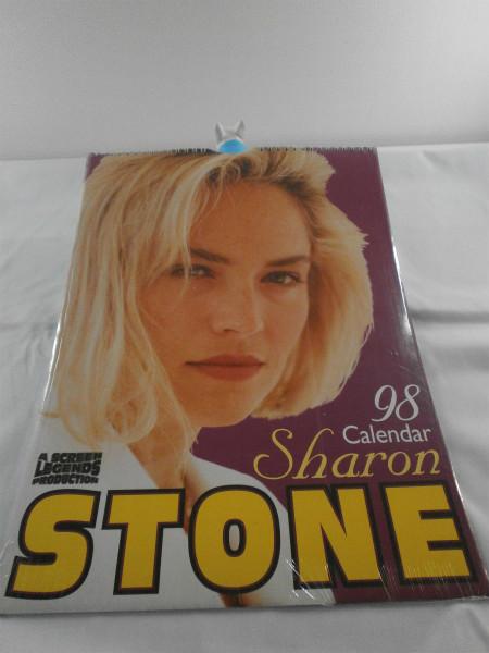 【新古品】A SCREEN LEGENDS PRODUCTION 98 calendar Sharon STONE シャロンストーン 1998 カレンダー