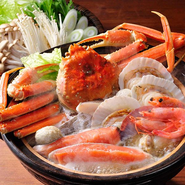 お得クーポン発行中 春の新作続々 カニ 鮭 ホタテ 冬が旬の海鮮を一度に味わえる贅沢 海鮮かに鍋セット 送料無料ずわい蟹 真たら 帆立など豪華海の幸 秋鮭