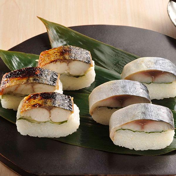 極上鯖の旨みを生かしたサバ寿司2種 鯖寿司セット ファッション通販 焼き鯖 〆鯖 送料無料 母の日 定番の人気シリーズPOINT(ポイント)入荷 ギフト 敬老の日 お歳暮 父の日