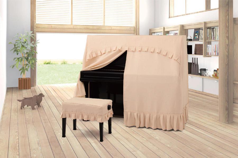 ぴったり A-TE ボーダージャガードタイプ/オールカバー・ジャガード ピアノカバー アルプス製