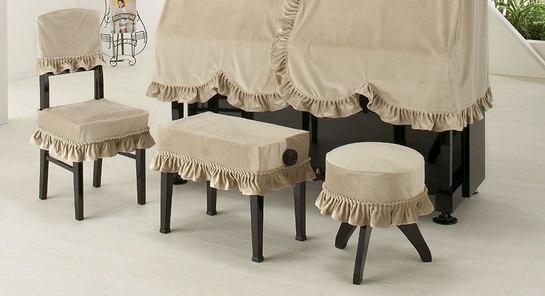 高低椅子カバー(背もたれ椅子)LB-CK   ワインレッド  ベージュ ブラウン