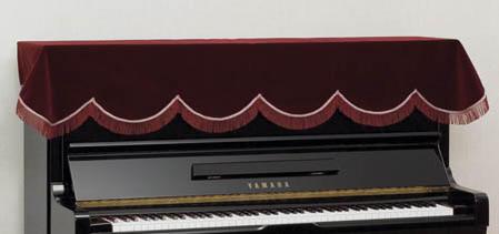 アップライトピアノ トップカバー スタンダード ●手数料無料!! 人気の製品 定番 PT-ME:ピアノカバーといえばこれですね 昔からお馴染みのピアノカバーの定番 エンジ ピアノトップカバー