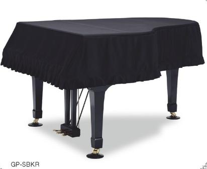 新着商品★ GB-SBKR CF4・S4B用 グランドピアノフルカバー ブラック:現行タイプ