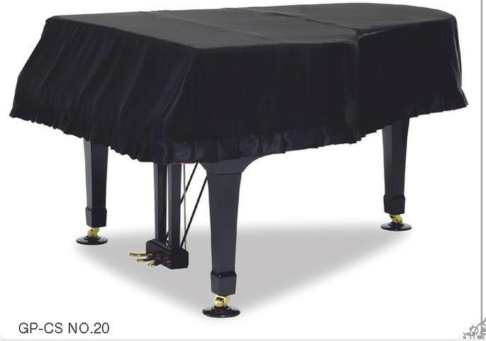 ♪【送料無料】A1L・GB1K用:GP-CS NO.20 グランドピアノフルカバー ブラック サテン<現行モデル>
