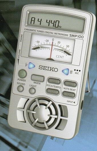 セイコー メトロノーム×チューナー SPM100