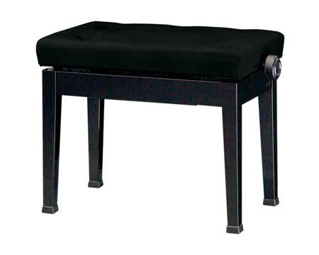 【送料無料】ピアノ椅子 Y-50 ピアノスツール ブラック(B) 吉澤