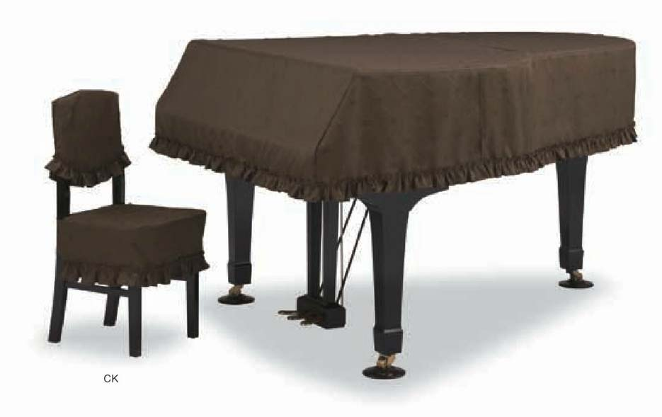 【送料無料】グランドピアノカバー GP-590CB ダークブラウン C5X用