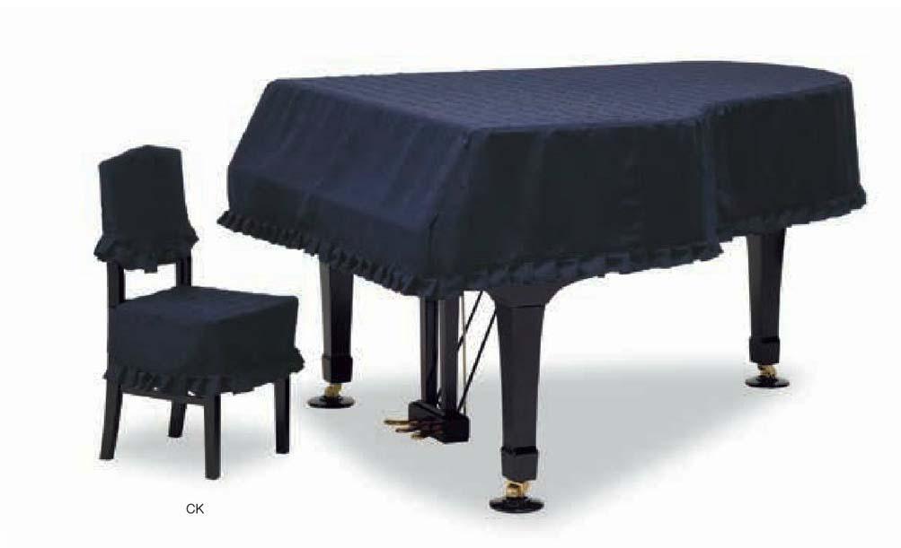 【送料無料】グランドピアノカバー GP-529GB ダークブルー C5X用