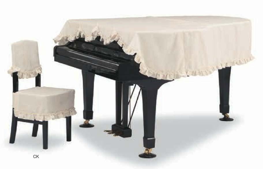 【送料無料】グランドピアノカバー GP-591LI アイボリー C3X用