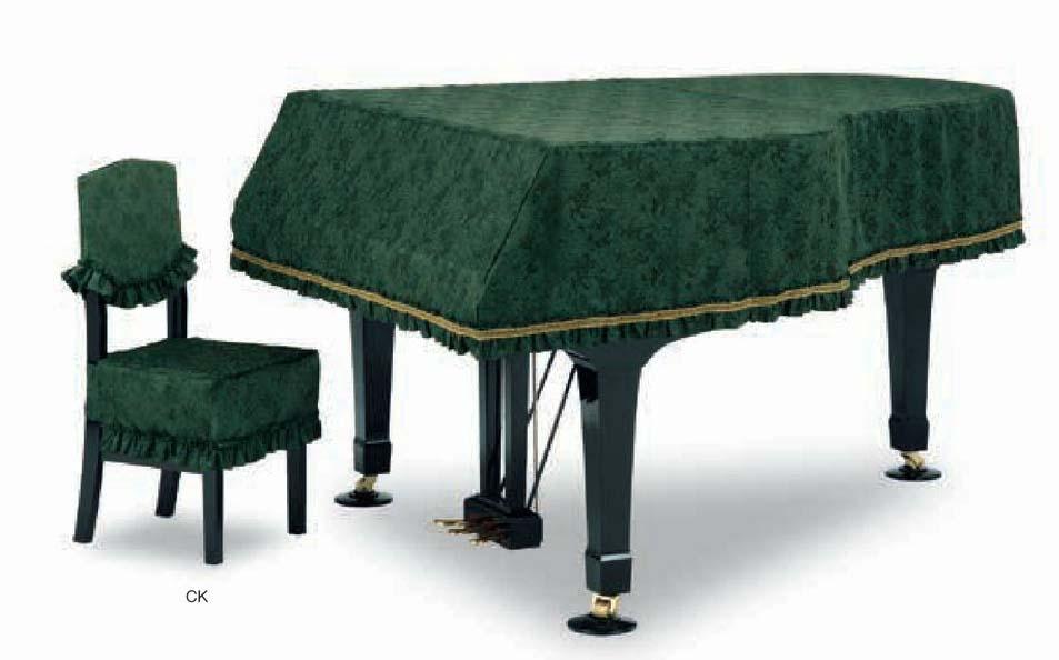【送料無料】グランドピアノカバー GP-585GN グリーン C2X用