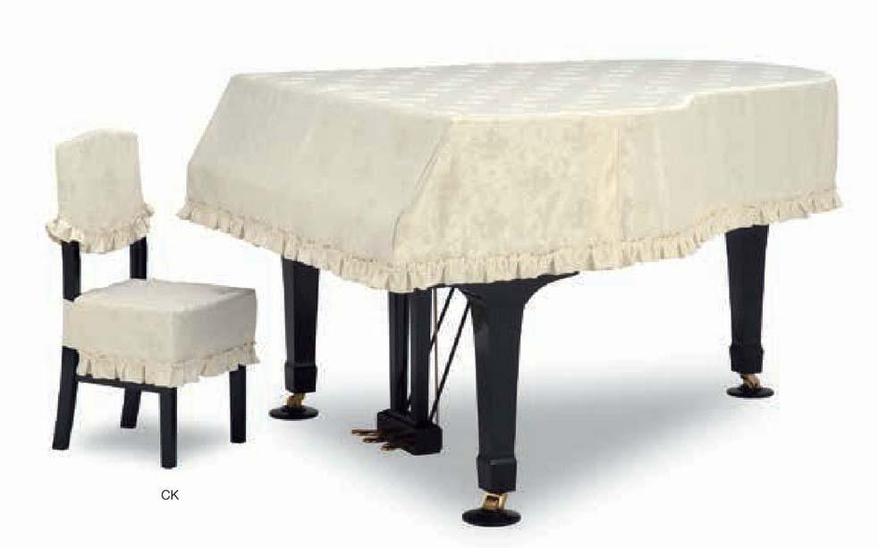 【送料無料】グランドピアノカバー GP-586TI アイボリー C5X用