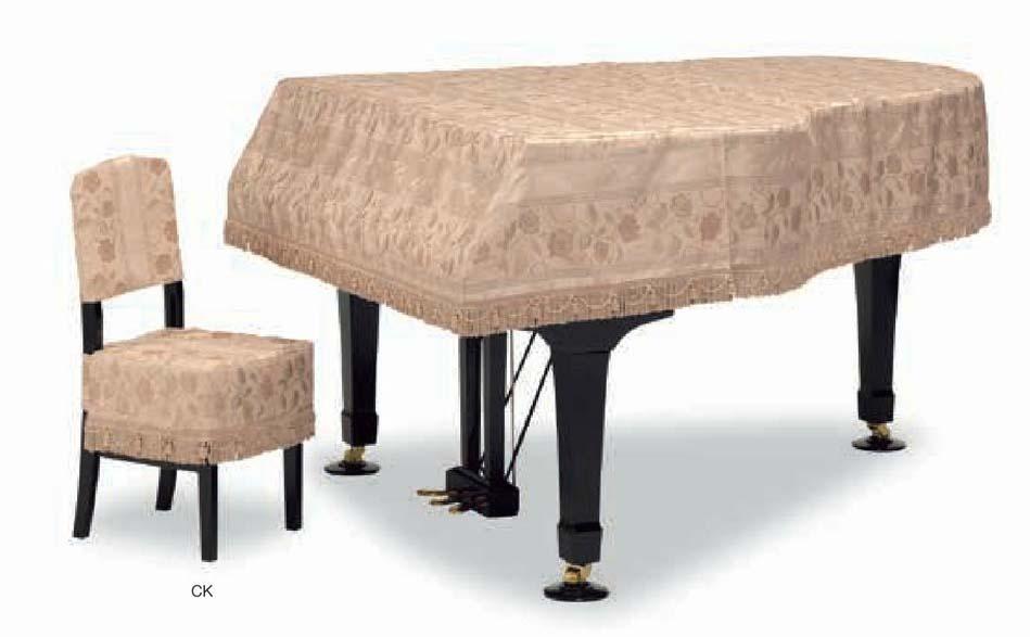 【送料無料】グランドピアノカバー GP-583CB ベージュ系多色 C3X用