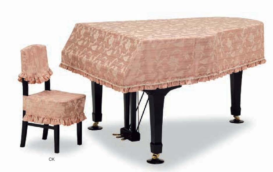 【送料無料】グランドピアノカバー GP-555GR ワインレッド C5X用