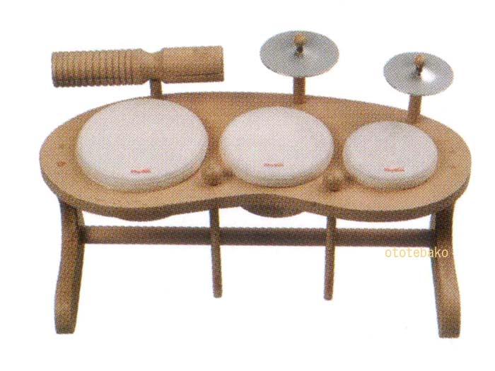【人気商品】リズムポコ ドラムセット RP-940/DS