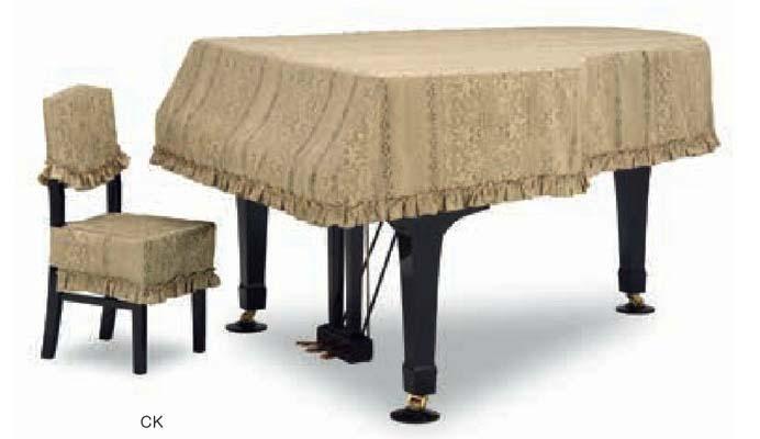 【お買い得!】 【送料無料】グランドピアノカバー GP-588GDE ゴールド C5X用, アヤウタグン 08288137