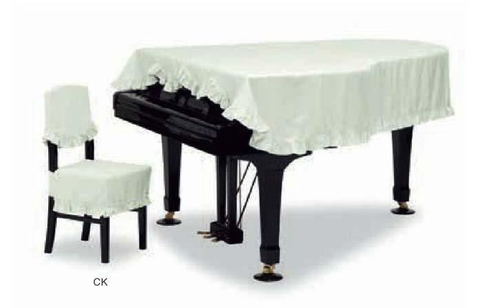 【送料無料】グランドピアノカバー GP-528CG グリーン C3X用