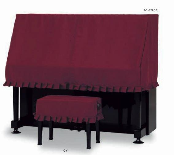 ピアノケープ PC-529GR ワインレッド 吉澤製
