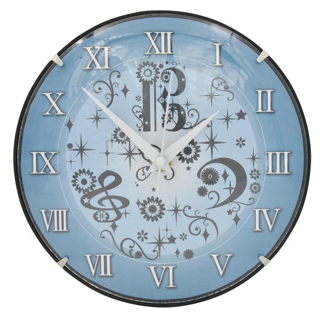 ドーム型のガラスカバーがおしゃれ お部屋を素敵に彩る掛け時計登場 ヨウコウホーム HX19GC 人気 YOUKOUHOME ガラスドーム時計 期間限定送料無料