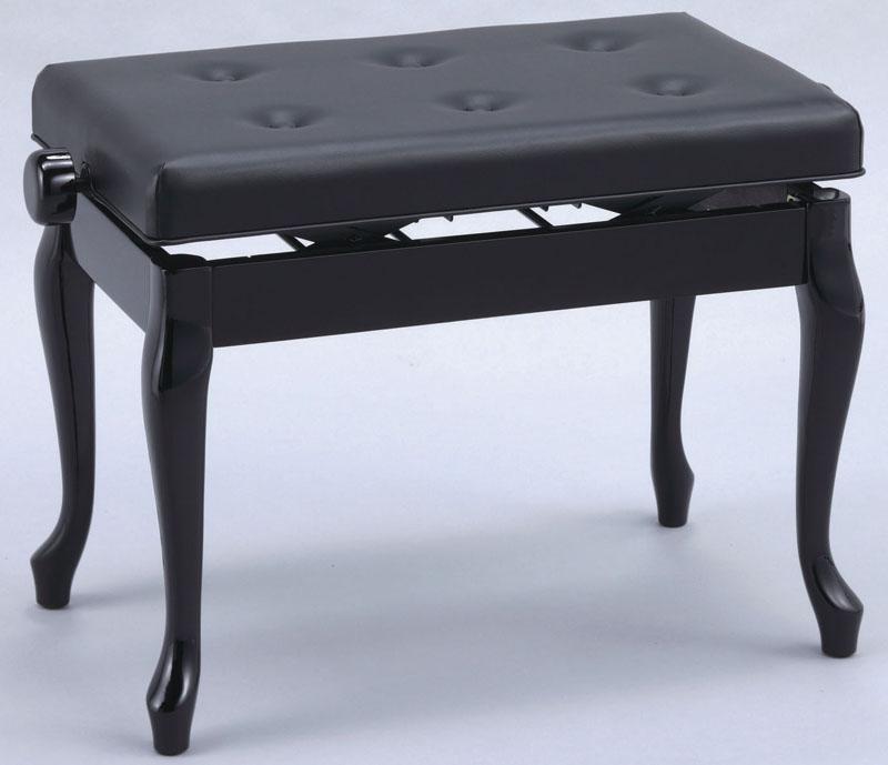 ピアノ椅子 ワイドV60シリーズ V60-C 黒塗り