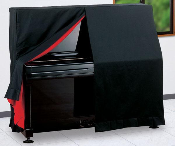 アップライトピアノ フルカバータイプ 上製UP用 ブラック  甲南