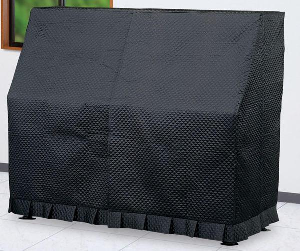 アップライトピアノ フルカバー キルティングタイプ ブラック KA-U 甲南