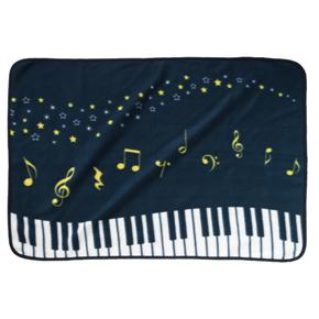 寒い季節 膝やおしりをやさしい温もりで包んでくれるブランケット 星空 ピアノライン 公式ストア 期間限定送料無料 PIANO ブランケット line 0603501