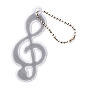 在庫数が入っていない場合はお取り寄せ 安い 大量ご注文承ります レッスン帰りの夜道も安心 NEW 0542901 ピアノライン メーカー直売 リフレクタート音記号ホワイト Musicline